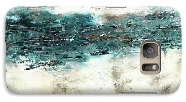 Galaxy Case featuring the painting High Tide by Carmen Guedez