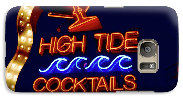 Galaxy Case featuring the photograph High Tide Cocktails by Matthew Bamberg