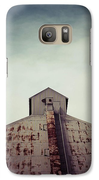 Galaxy Case featuring the photograph High View by Trish Mistric