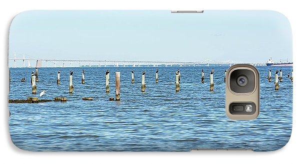 Galaxy Case featuring the photograph Highland Beach On The Chesapeake by Charles Kraus