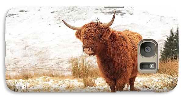 Highland Cow Galaxy S7 Case