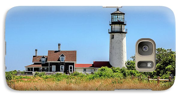 Galaxy Case featuring the photograph Highland Light - Cape Cod by Peter Ciro