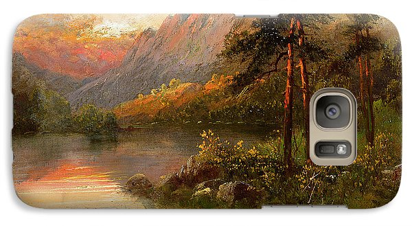 Highland Solitude Galaxy S7 Case