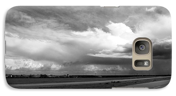 Galaxy Case featuring the photograph Highway 5 Clouds by John Norman Stewart
