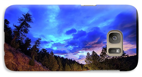 Galaxy Case featuring the photograph Highway 7 To Heaven by James BO Insogna
