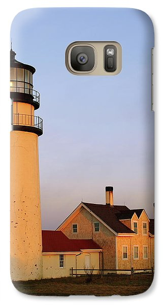 Galaxy Case featuring the photograph Higland Lighthouse Cape Cod by Roupen  Baker