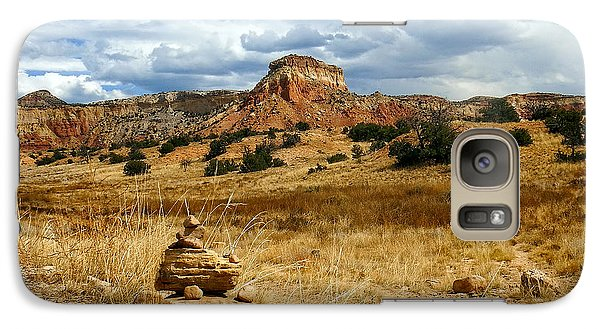 Galaxy Case featuring the photograph Hiking Ghost Ranch New Mexico by Kurt Van Wagner