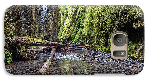 Galaxy Case featuring the photograph Hiking Oneonta Gorge by Pierre Leclerc Photography