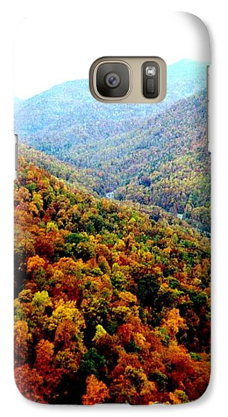 Galaxy Case featuring the photograph Hiking Through The Mountains by Skyler Tipton