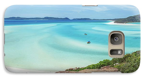 Galaxy Case featuring the photograph Hill Inlet Lookout by Az Jackson