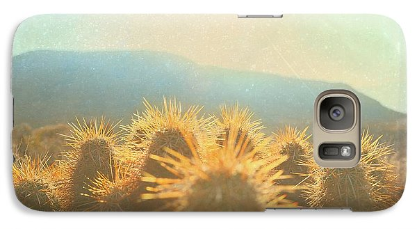Galaxy Case featuring the photograph Hill Top Sunset  by Mark Ross