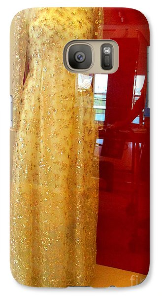 Hillary Clinton State Dinner Gown Galaxy S7 Case by Randall Weidner