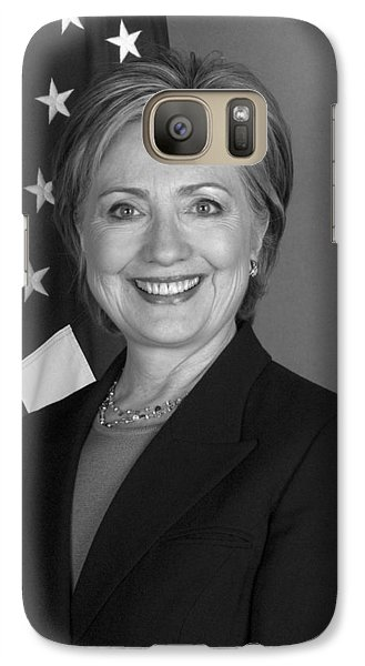Hillary Clinton Galaxy S7 Case - Hillary Clinton by War Is Hell Store