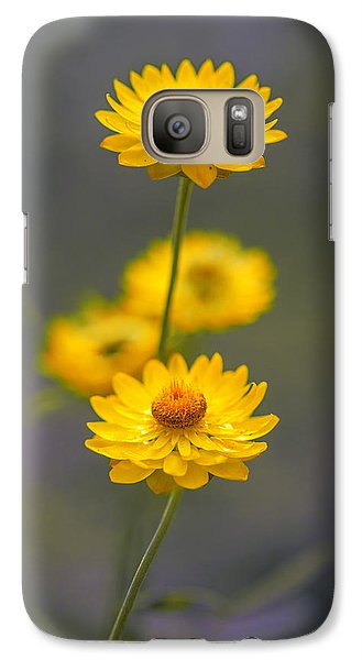 Stork Galaxy S7 Case - Hillflowers by Az Jackson