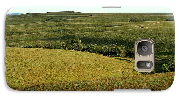 Galaxy Case featuring the photograph Hills Of Kansas by Thomas Bomstad