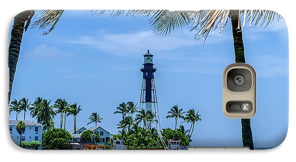 Galaxy Case featuring the photograph Hillsboro Inlet Lighthouse by Louis Ferreira