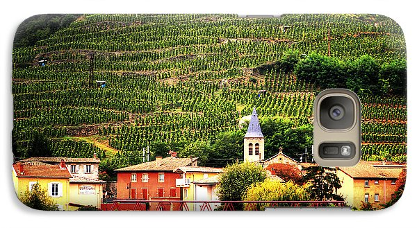 Galaxy Case featuring the photograph Hillside Vineyard France by Tom Prendergast