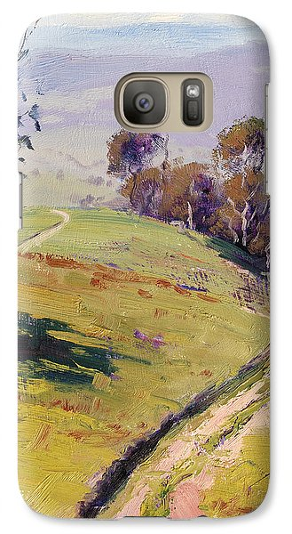 Realistic Galaxy S7 Case - Hilly Landscape Lithgow by Graham Gercken