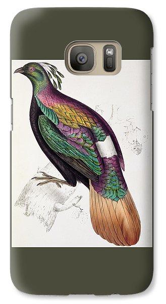 Himalayan Monal Pheasant Galaxy S7 Case