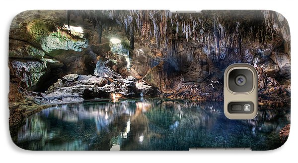 Galaxy Case featuring the photograph Hinagdanan Cave by Yhun Suarez
