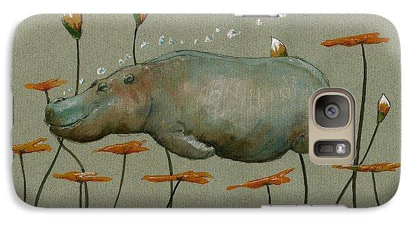 Hippo Underwater Galaxy S7 Case