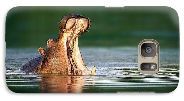 Hippopotamus Galaxy S7 Case