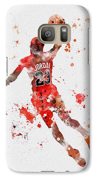 His Airness Galaxy Case by Rebecca Jenkins