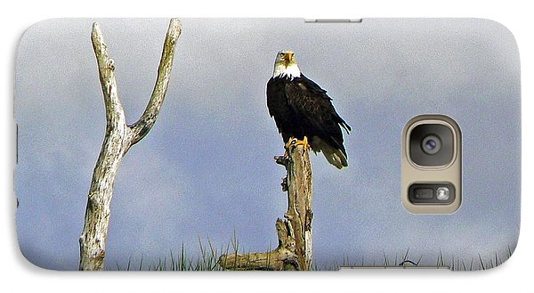 Galaxy Case featuring the photograph His Majesty by Pamela Patch