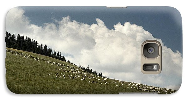 Galaxy Case featuring the photograph His Pastures.. by Al  Swasey