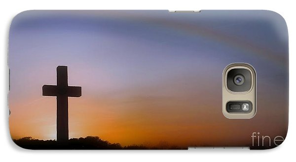 Galaxy Case featuring the photograph His Promise by Benanne Stiens