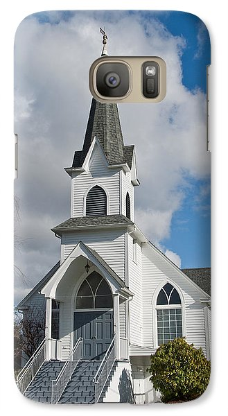 Galaxy Case featuring the photograph Historic 1904 Lutheran Church by Jeff Goulden