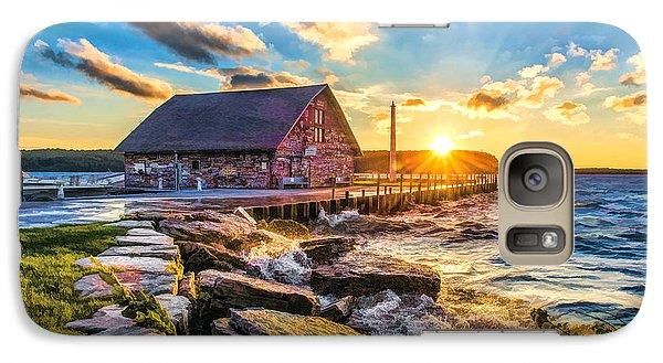 Historic Anderson Dock In Ephraim Door County Galaxy S7 Case by Christopher Arndt