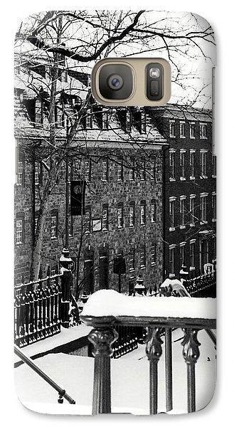Galaxy Case featuring the photograph Historic Bethlehem Pa by DJ Florek