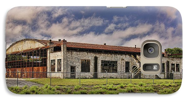 Galaxy Case featuring the photograph Historic Curtiss Wright Hanger by Steven Richardson