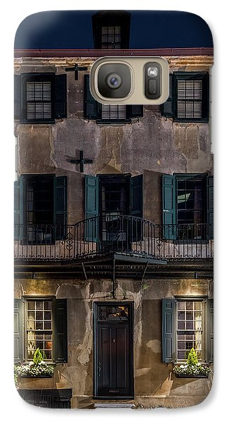 Galaxy Case featuring the photograph Historic William Vanderhorst House, Charleston by Carl Amoth