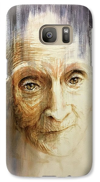Galaxy Case featuring the painting Histories And Memories Of Ancestral Light 3 by J- J- Espinoza