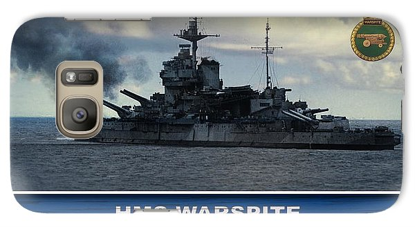 Galaxy Case featuring the digital art Hms Warspite by John Wills