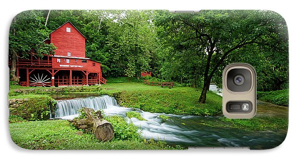 Galaxy Case featuring the photograph Hodgson Water Mill And Spring by Cricket Hackmann