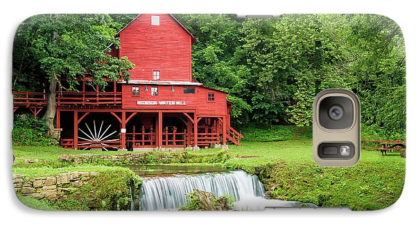 Galaxy Case featuring the photograph Hodgson Water Mill by Cricket Hackmann
