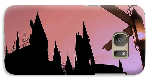 Galaxy Case featuring the photograph Hogwarts Castle ... by Juergen Weiss