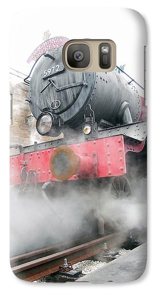 Galaxy Case featuring the photograph Hogwarts Express Train by Juergen Weiss