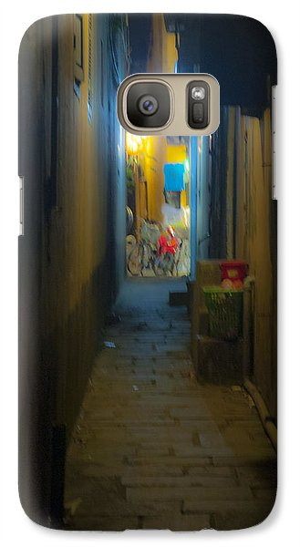 Galaxy Case featuring the photograph Hoi An Alleyway by Rob Hemphill