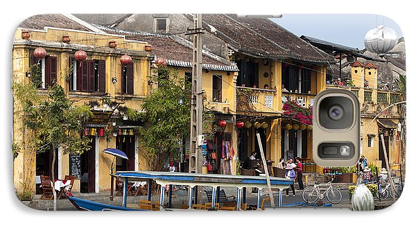 Galaxy Case featuring the photograph Hoi An Ancient Town by Rob Hemphill