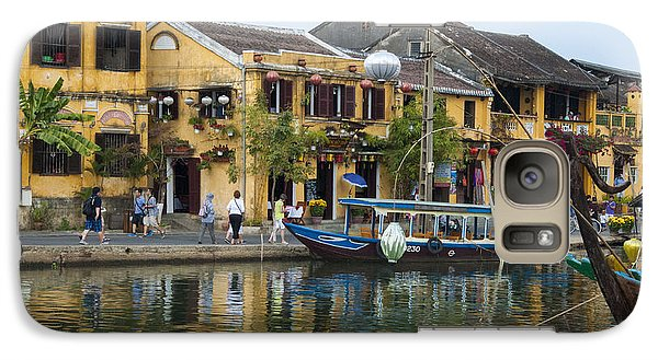Galaxy Case featuring the photograph Hoi An On The River by Rob Hemphill