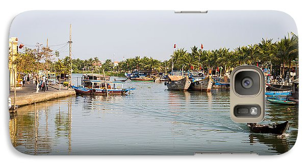 Galaxy Case featuring the photograph Hoi An River by Rob Hemphill