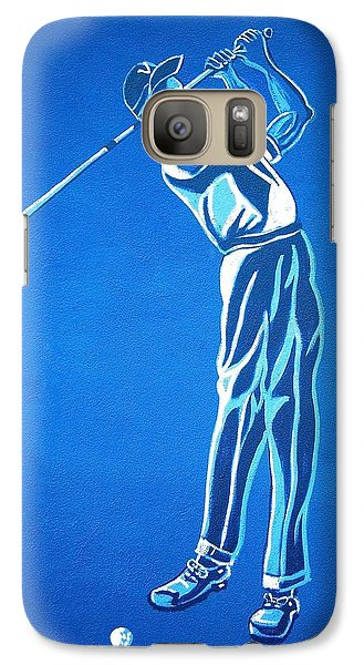 Galaxy Case featuring the photograph Hole In One ... by Juergen Weiss