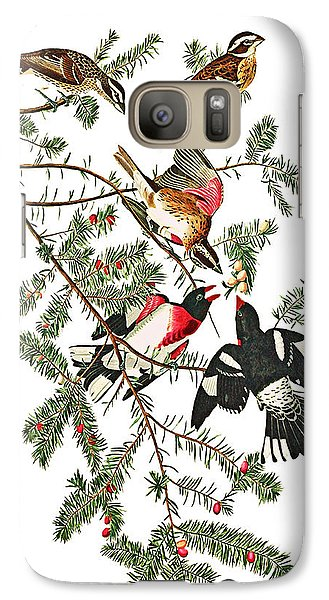Galaxy Case featuring the photograph Holiday Birds by Munir Alawi