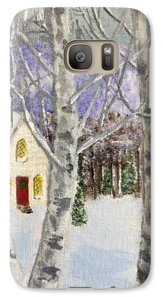 Galaxy Case featuring the painting Holiday In The Country by Cynthia Morgan