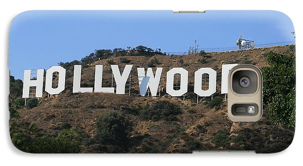 Galaxy Case featuring the photograph Hollywood by Marna Edwards Flavell