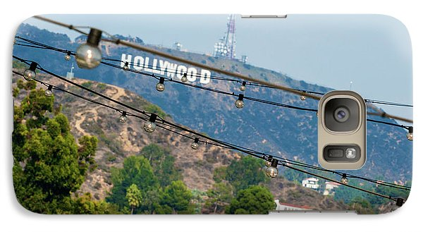 Galaxy Case featuring the photograph Hollywood Sign On The Hill 1 by Micah May